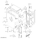 Diagram for 1 - Cabinet, Liner & Door Parts