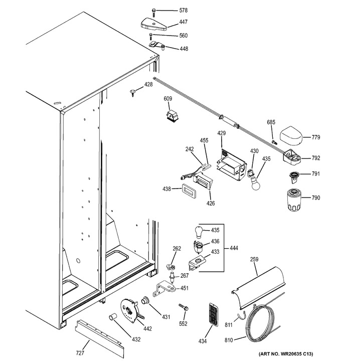 Diagram for GSE22ETHB WW