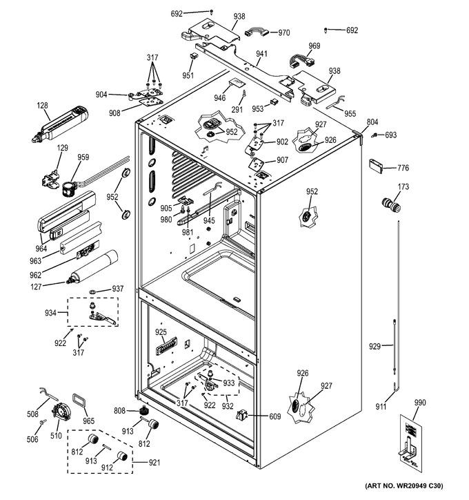 Diagram for GYE22KSHBSS