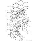 Diagram for 4 - Shelves & Drawers