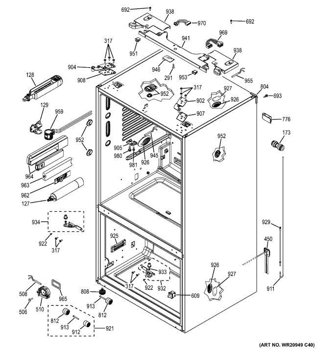 Diagram for GFE28HGHCWW