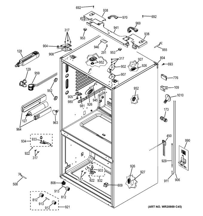 Diagram for PWE23KGDFBB