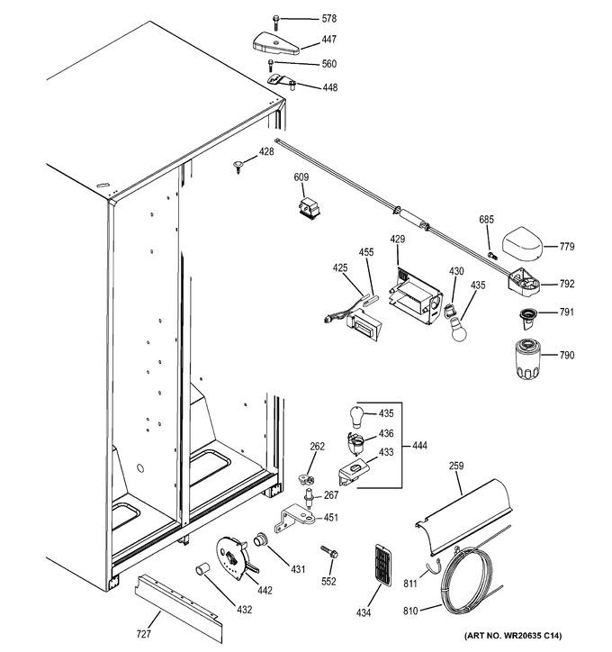 Diagram for GSH22JGDCWW