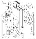 Diagram for 1 - Dispenser Door