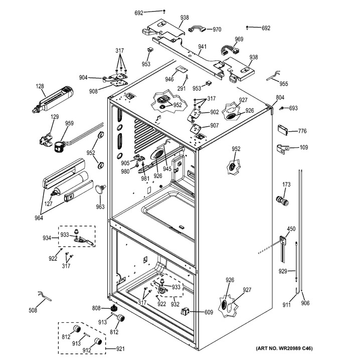 Diagram for GNE29GSHDSS