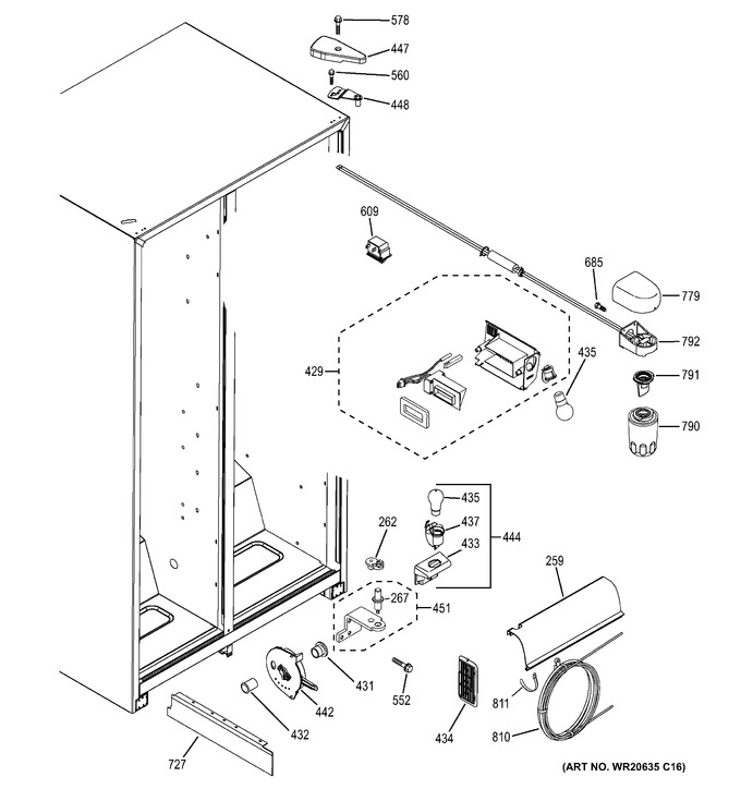 Diagram for GSE25ETHB WW