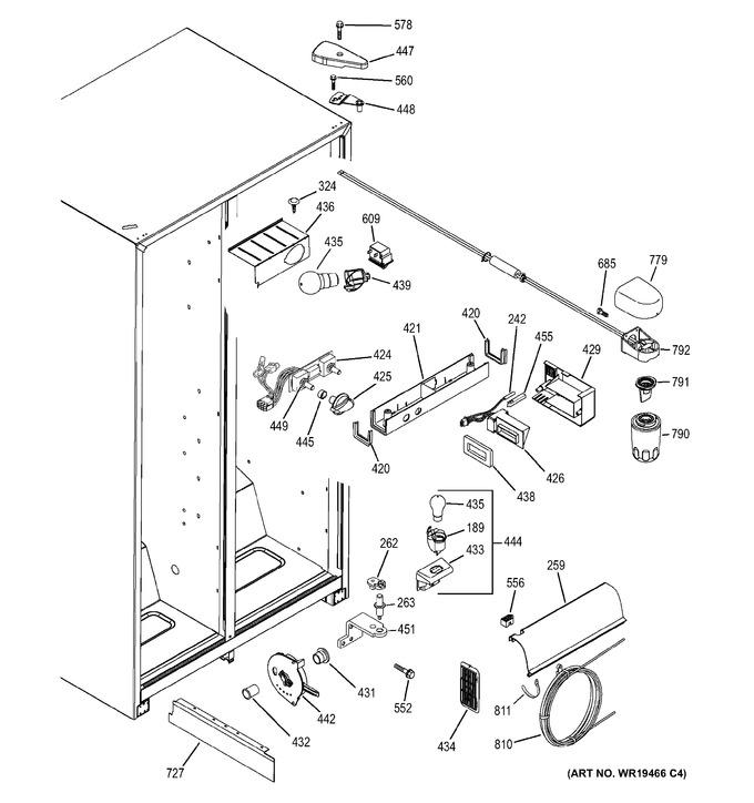 Diagram for GSH25JFRFWW