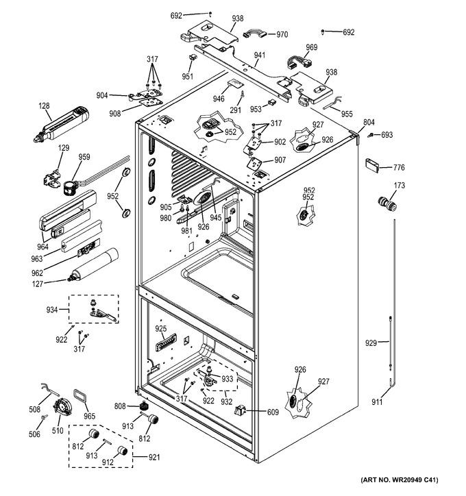 Diagram for GFE26GSHFSS