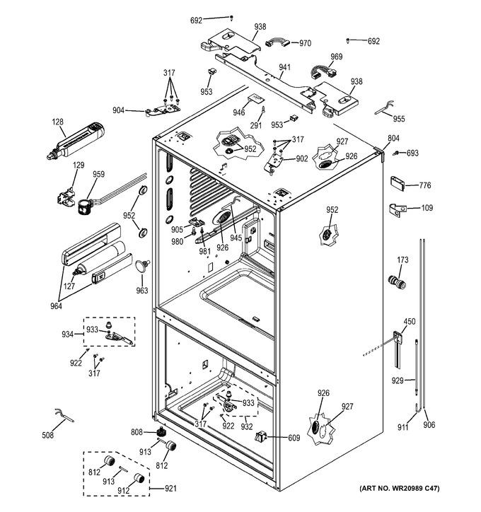 Diagram for GNE29GGHEWW
