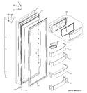 Diagram for 3 - Fresh Food Door