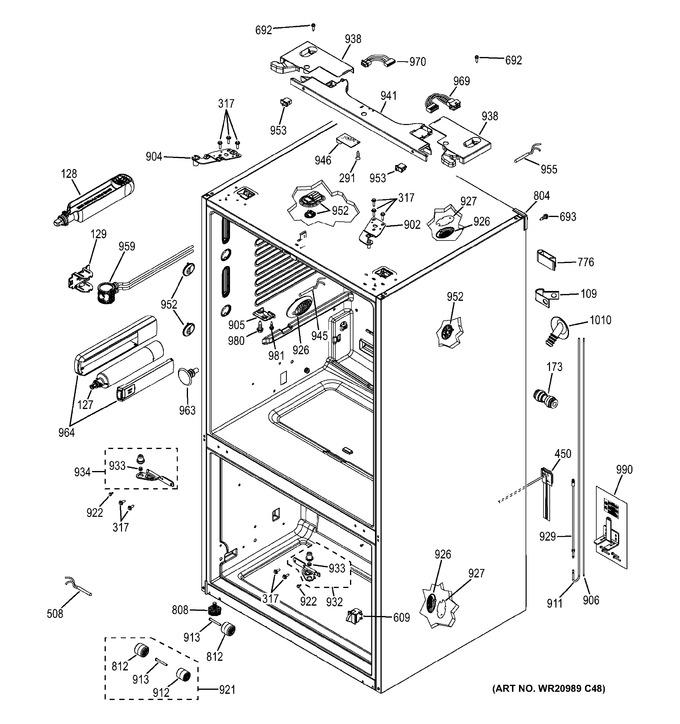 Diagram for PWE23KSKBSS