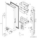 Diagram for 2 - Fresh Food Door - Lh