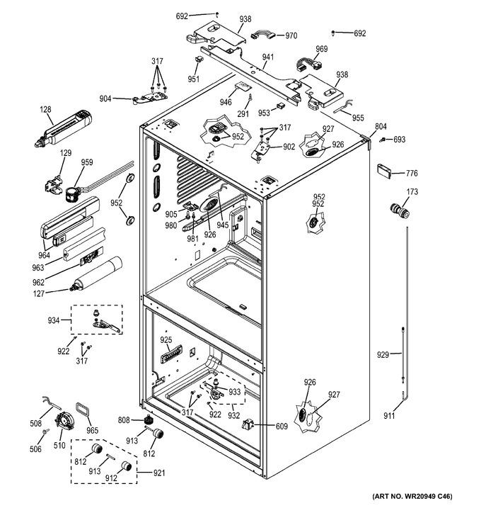 Diagram for GFE26GMKBES