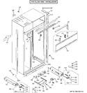 Diagram for 2 - Case Parts - Flush Inset