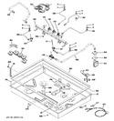 Diagram for 2 - Gas & Burner Parts