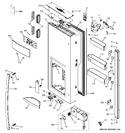 Diagram for 4 - Dispenser Door