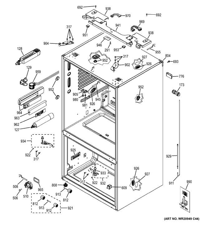 Diagram for GYE22HSKBSS