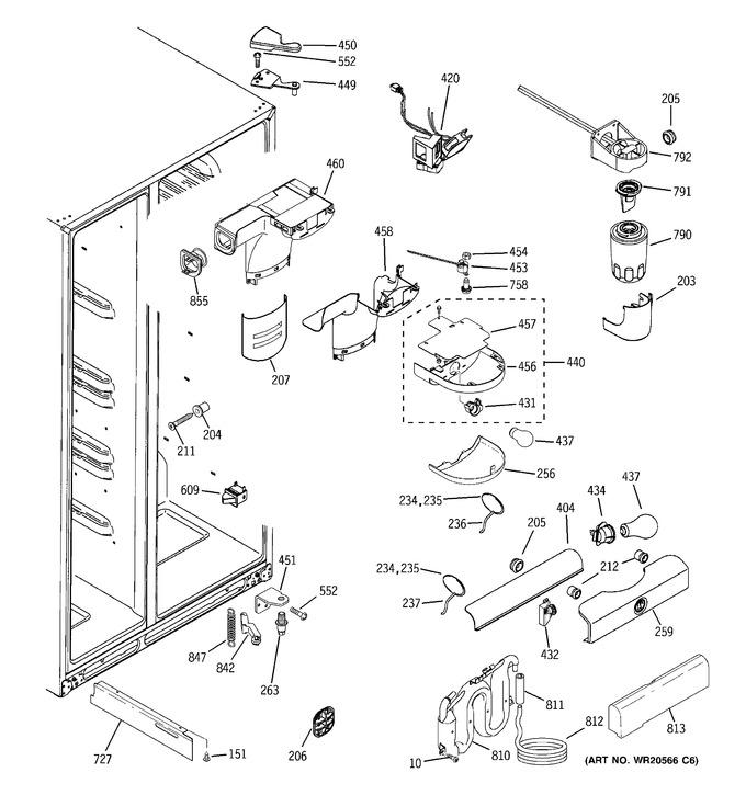 Diagram for GSS23HMHECES