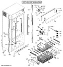 Diagram for 4 - Cabinet - Flush Inset