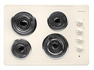 Frigidaire 30 inch Bisque Electric Cooktop
