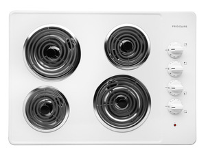 Frigidaire 30 inch White Electric Cooktop